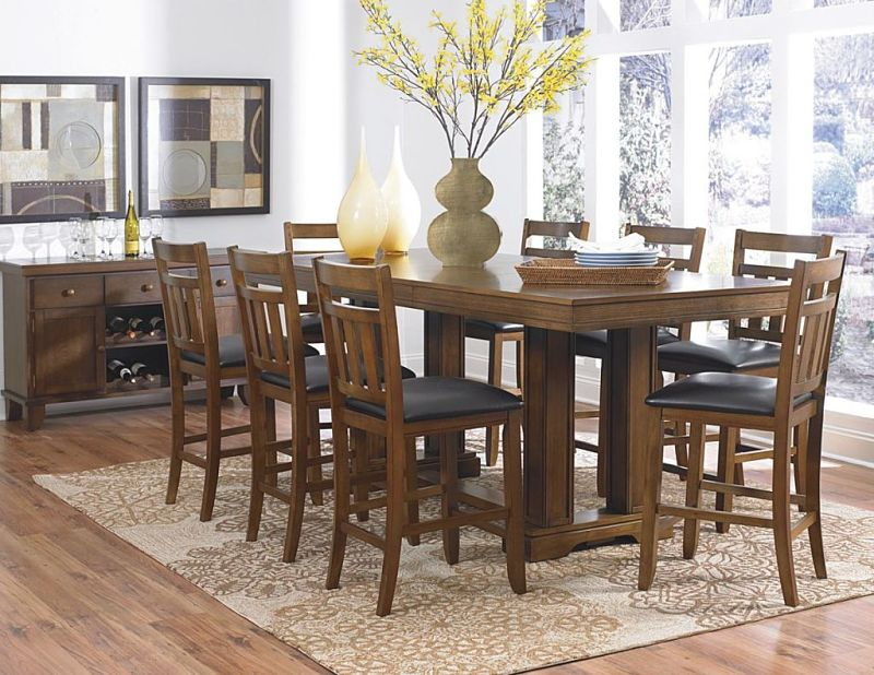 Kirtland Counter Height Dining Room Set