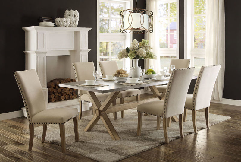 Homelegance 5100 84 Luella Dining Room Set Dallas Designer Furniture