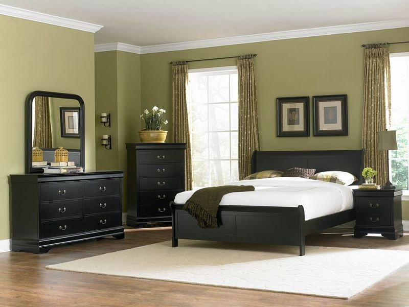 Marianne Bedroom Set in Black