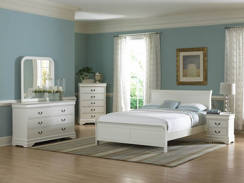 Marianne Bedroom Set in White