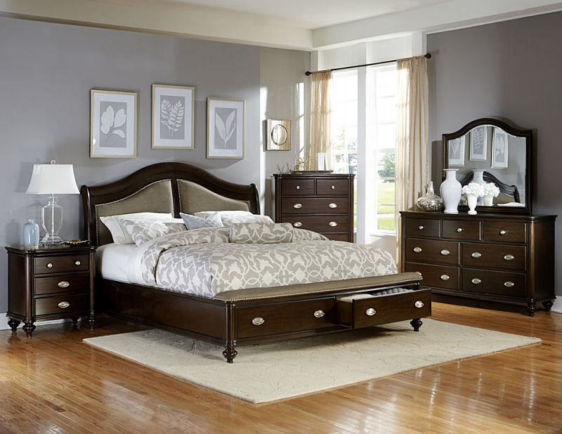 homelegance 2615dc marston bedroom set with storage bed 17676 | homelegancemarstonbedroom2615
