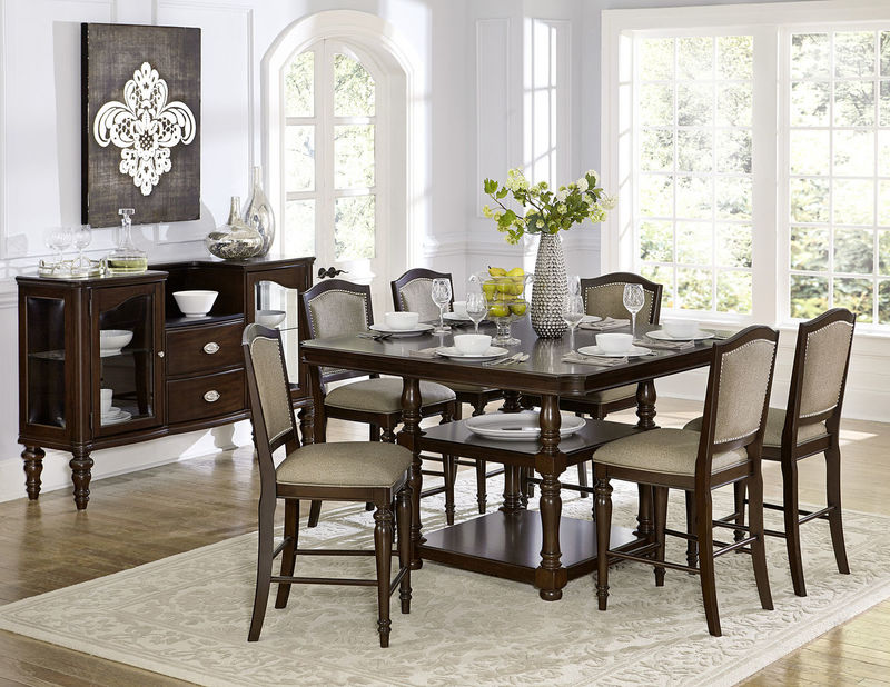 Marston Counter Height Dining Room Set