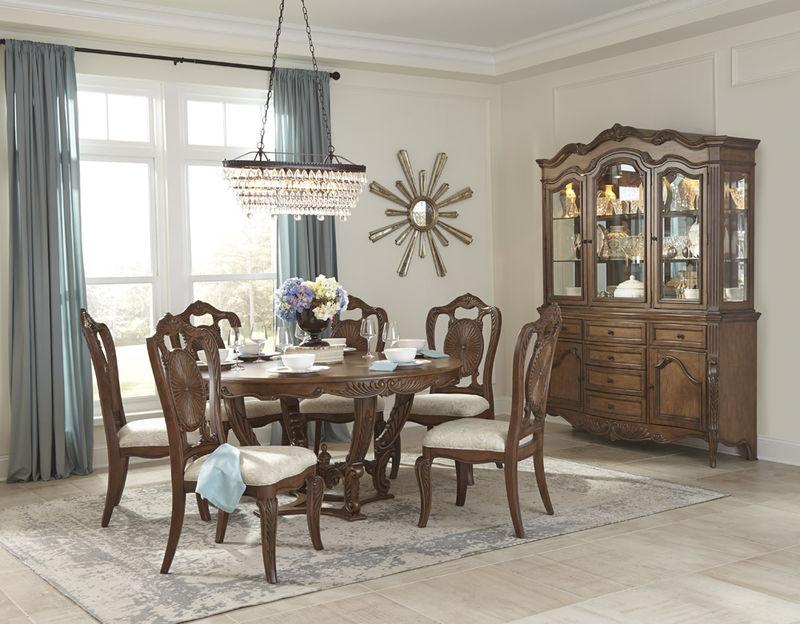 Homelegance | 1704-60 Moorewood Park Formal Dining Room Set with Round  Table | Dallas Designer Furniture