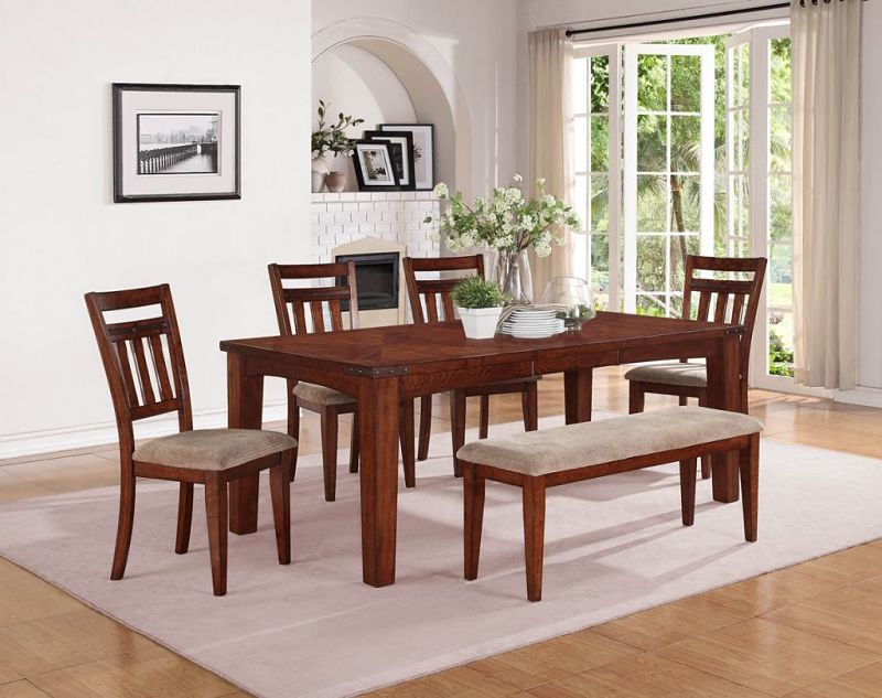 Oldsmar Dining Room Set with Bench