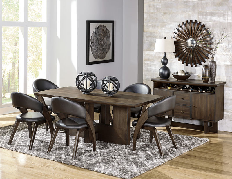 Dallas designer furniture dresden formal dining room set in cherry Dining room furniture dallas