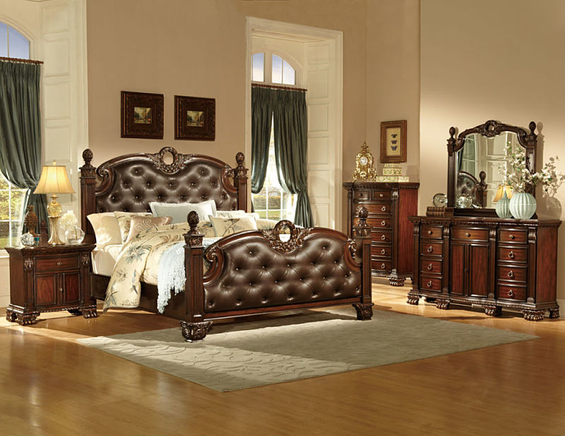 Orleans Bedroom Set in Cherry