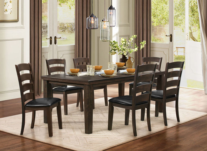 5141GY 80 Pacific Grove Dining Table Set