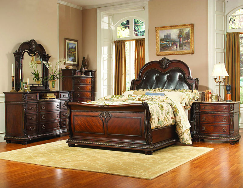 Dallas Designer Furniture   Palace Bedroom Set with Sleigh Bed
