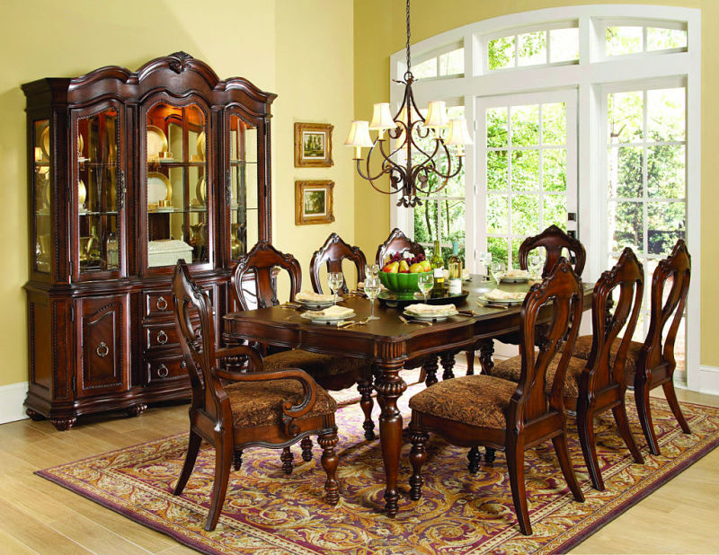 Prenzo Formal Dining Room Set with Rectangular Table