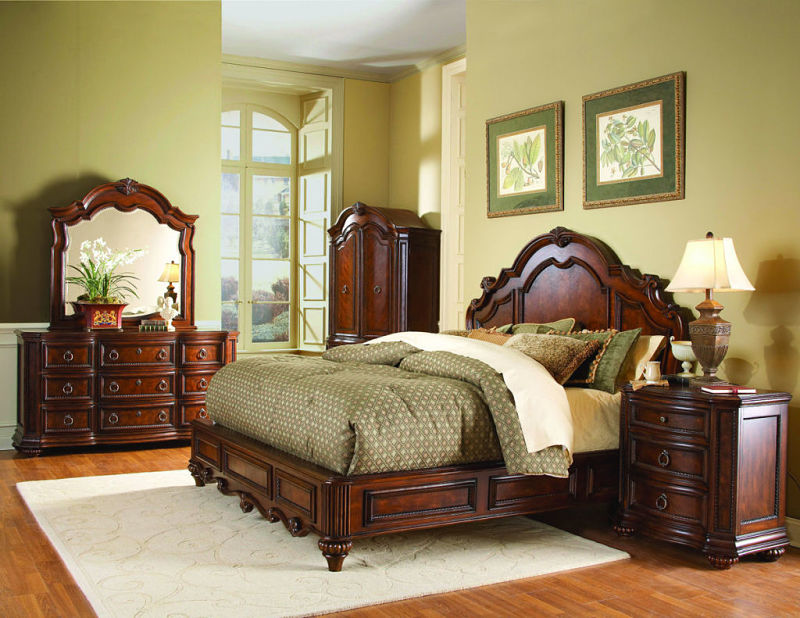 Prenzo Bedroom Set with Low Profile Bed