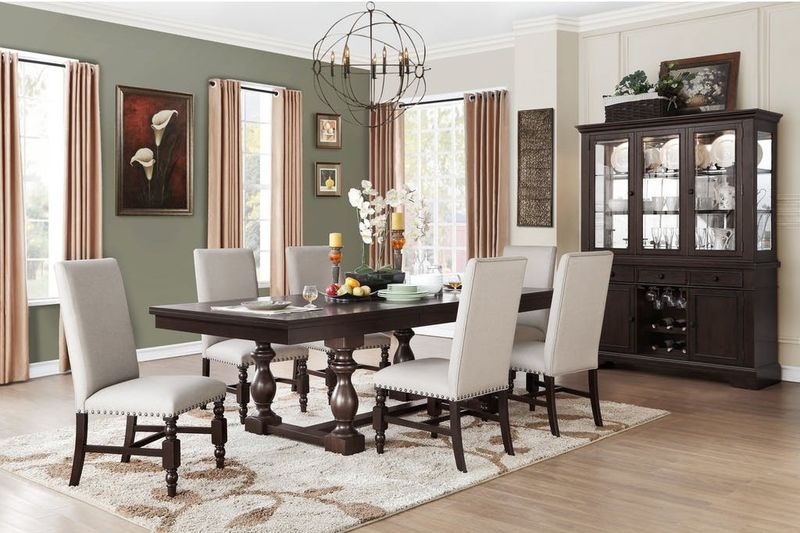 Reid Formal Dining Room Set with Side Chairs
