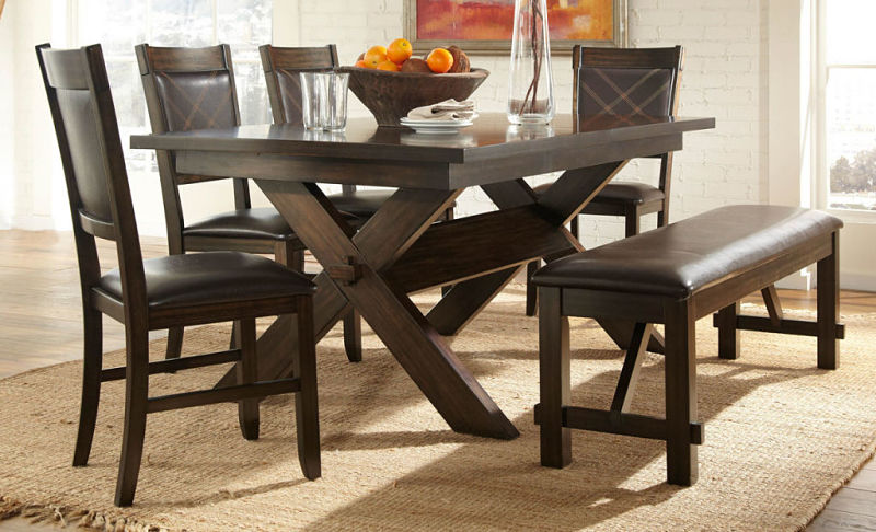 Roy Dining Room Set with Bench