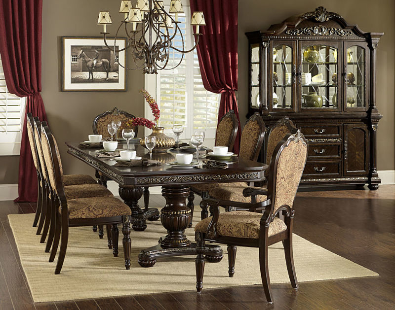 Homelegance 1808 112 Russian Hill Formal Dining Room Set