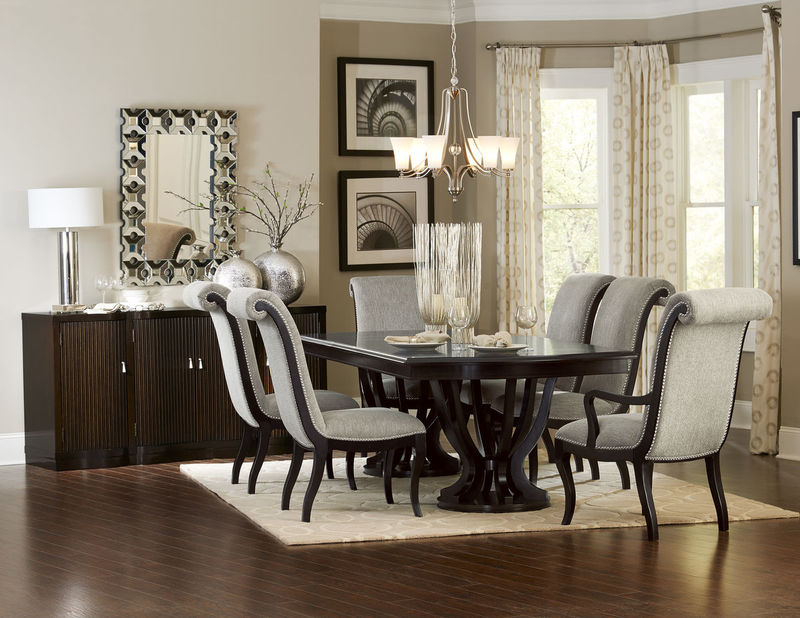 Savion Formal Dining Room Set with Rectangle Table