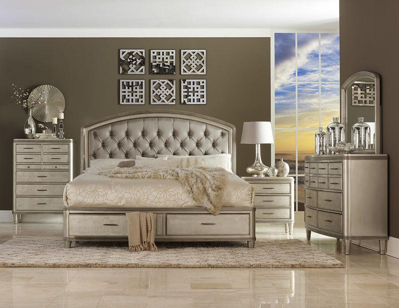 Tandie Bedroom Set with Storage Bed