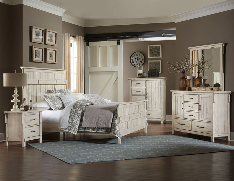Terrace Bedroom Set in White