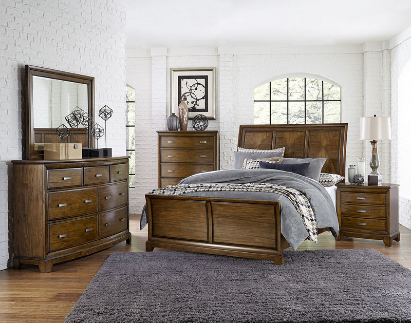 Terron Bedroom Set with Sleigh Bed