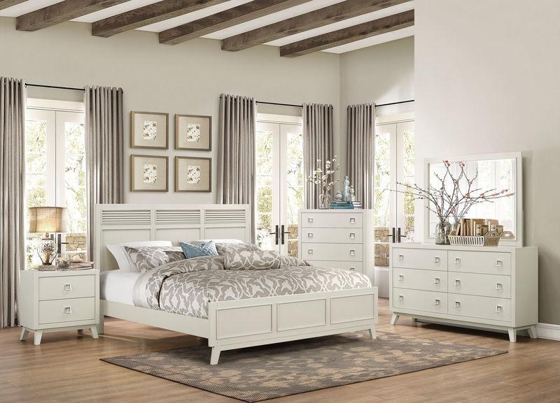 Dallas Designer Furniture Sherwood Bedroom Set With Upholstered Headboard
