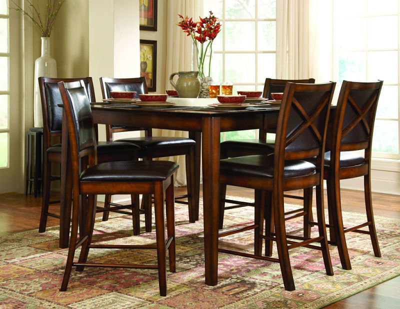 dallas designer furniture | verona counter height dining room set