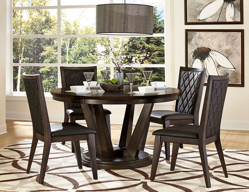 Villa Vista Round Dining Table Set