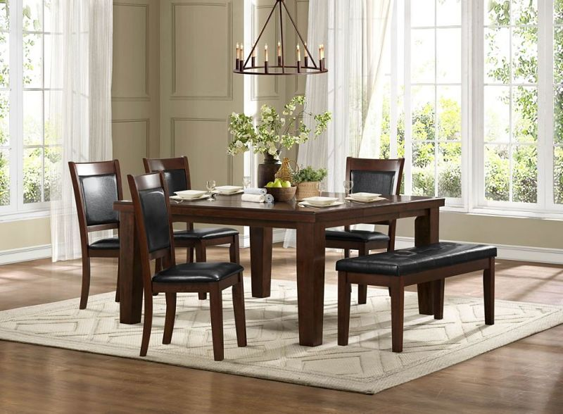 Weldon Dining Room Set with Bench