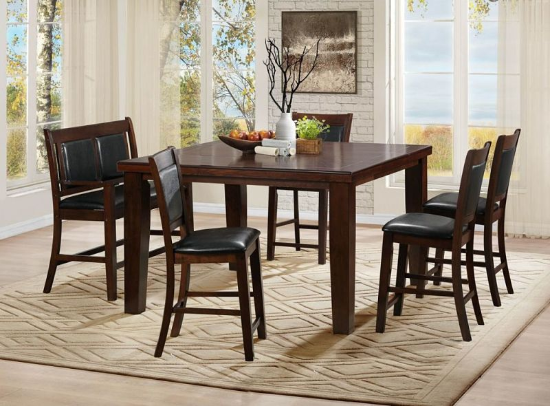 Weldon Counter Height Dining Set with Bench