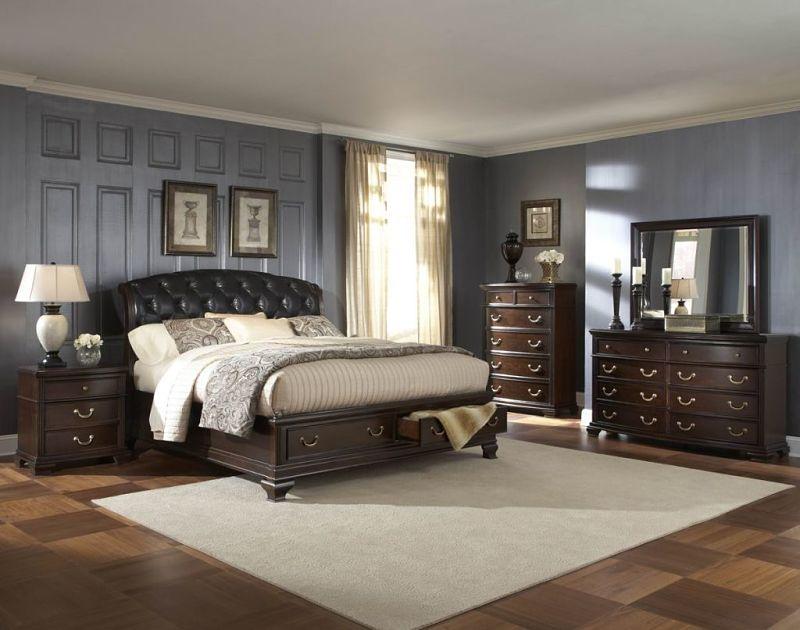 Wrentham Bedroom Set with Storage Bed