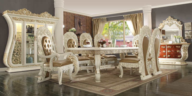 Dining room sets dallas designer furniture for Ashleigh dining set