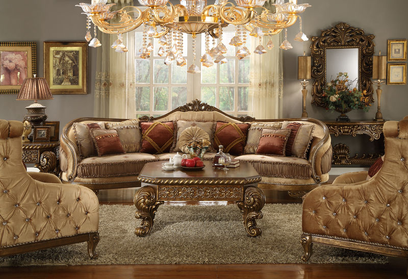 Dallas Designer Furniture Bonham Formal Living Room Set