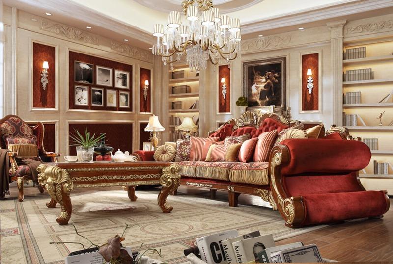 Raina II Formal Living Room Set