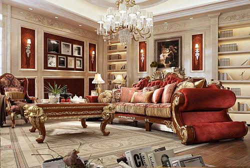 Raina II Formal Living Room Set