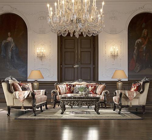 Calantha Formal Living Room Set