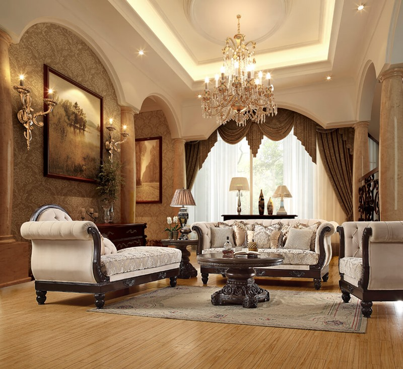 3 Piece Special Basile Formal Living Room Set