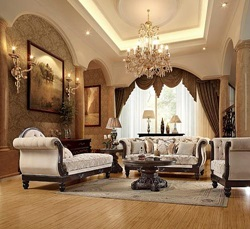 3 Piece Special Basile Formal Living Room Set