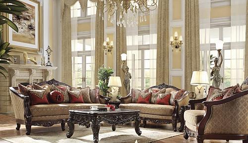 Karlis Formal Living Room Set