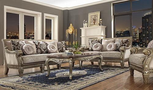 Adelia Formal Living Room Set