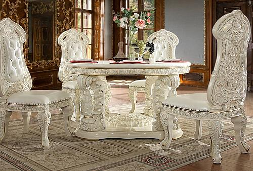 Belda Formal Dining Room Set with Round Table