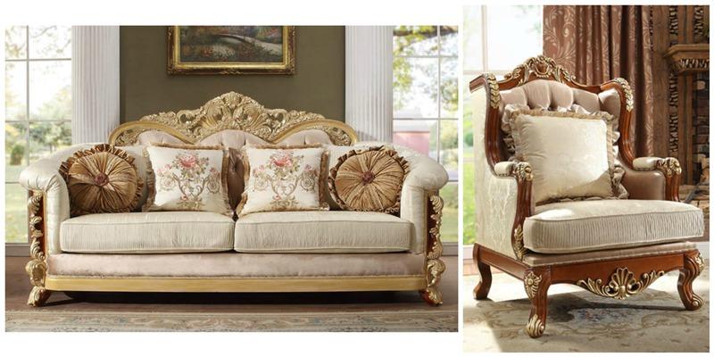 Raina Formal Living Room Set