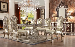 Devonshire Formal Dining Room Set with Rectangle Table