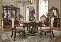 Monte Carlo Formal Round Dining Room Set