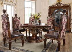 Clemente Formal Round Dining Room Set
