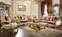 Francine 3 Piece Formal Living Room Set