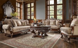 Gertrude 3 Piece Formal Living Room Set