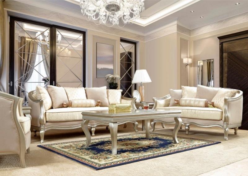 Kenna 3 Piece Formal Living Room Set