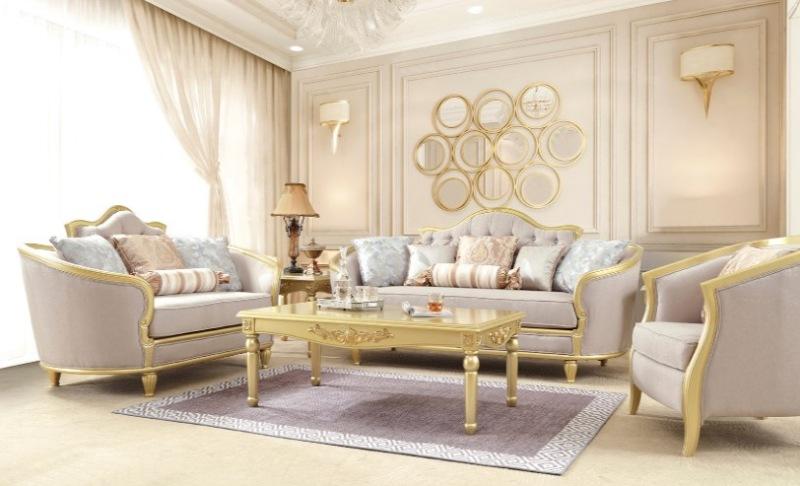 Lilliana 3 Piece Formal Living Room Set