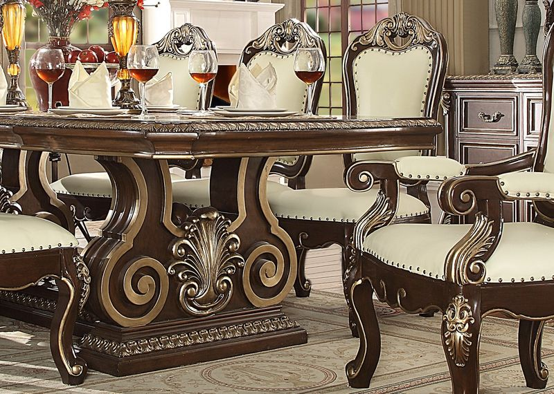 Dallas Designer Furniture Holloway Formal Dining Room Set