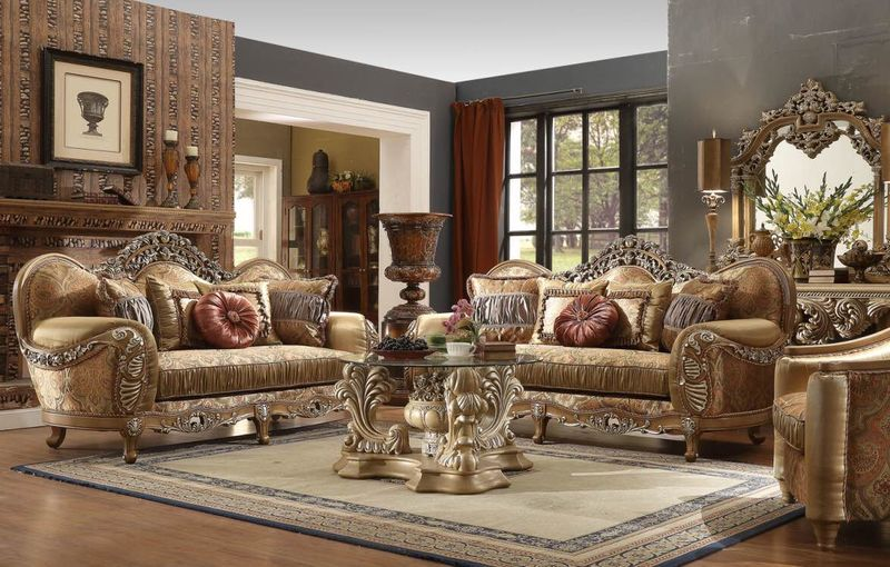 Dallas Designer Furniture Monticello Formal Living Room Set