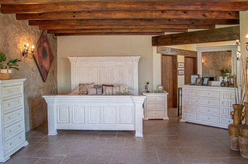 Terra White Rustic Bedroom Set *Clearance*
