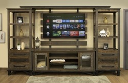 Loft Brown Entertainment Center
