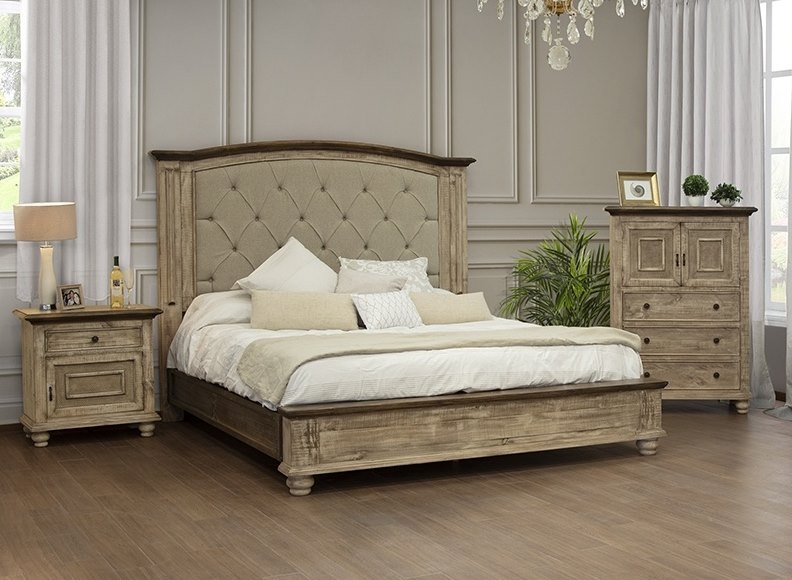 Laguna Modern Rustic Farmhouse Bedroom Set